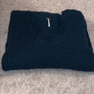 Beautiful free people vneck sweater